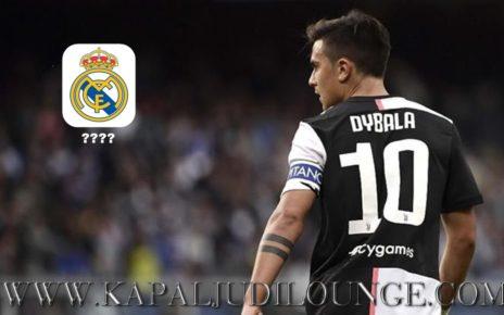 Real Madrid Tertarik Dengan Paulo Dybala