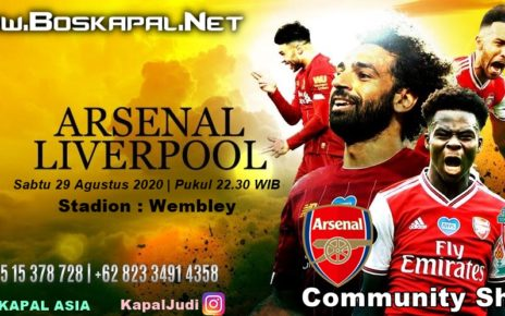 Jadwal & Prediksi Pertandingan Arsenal Vs Liverpool Community Shield