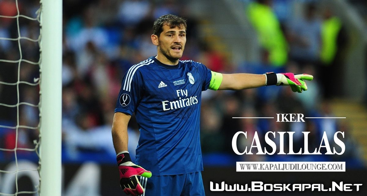 Iker Casillas Kiper Legendaris Pensiun