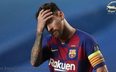 Lionel Messi Akan Tinggalkan Barcelona?