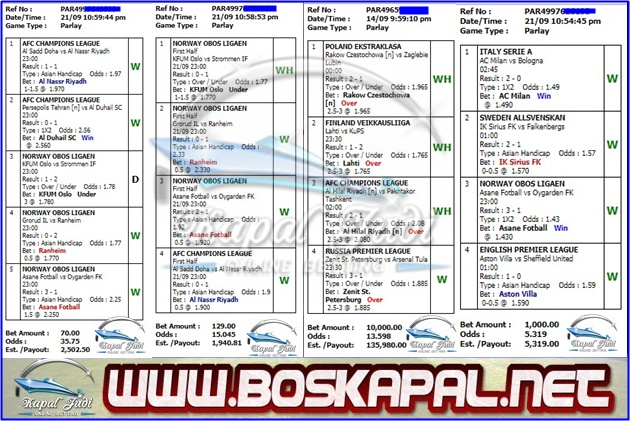 Kumpulan Jackpot Mix Parlay 22 September