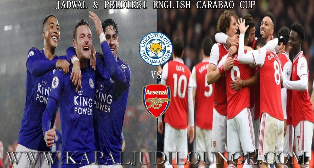 Jadwal & Prediksi English Carabao Cup Malam Ini
