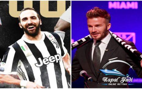 Gonzalo Higuain Gabung dengan Beckham