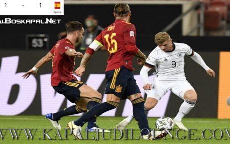Result Uefa Nations League: Germany Spain Imbang