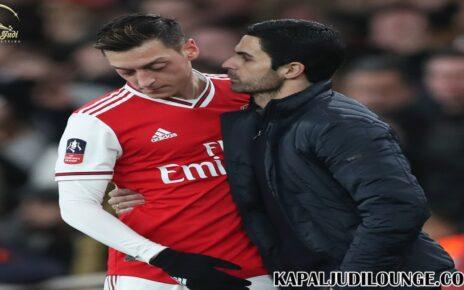 Mikel Arteta Beri Tanggapan Kecewanya Mesut Oezil Dengan Arsenal
