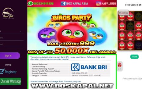 Info Kemenangan Slot JDB: Birds Party
