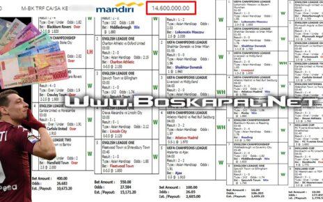 Jackpot Mix Parlay Paus Hingga 14 Juta Rupiah