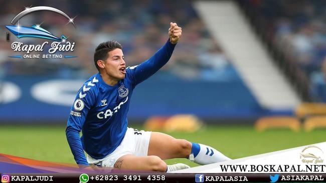 James Rodriguez Cedera Jelang Southampton Vs Everton