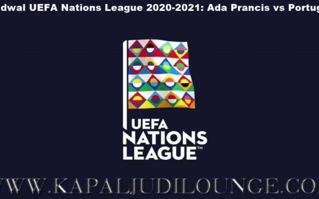 Jadwal UEFA Nations League 2020-2021: Ada Prancis vs Portugal