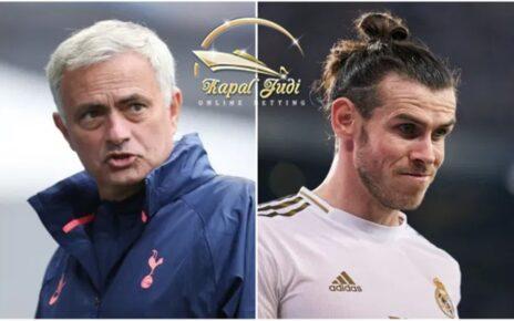 Jose Mourinho Membantu Gareth Bale Semangat Kembali di Dunia Sepak Bola