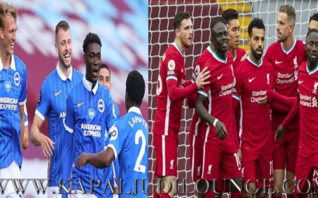 Prediksi Premier League: Brighton Vs Liverpool