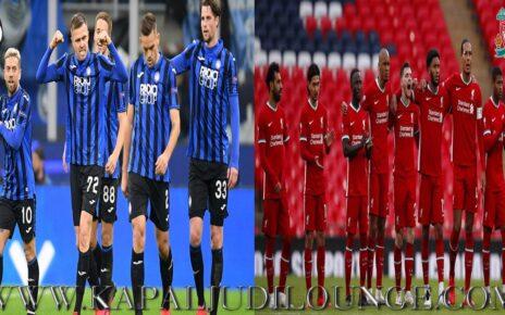 Prediksi Uefa Champions League: Atalanta Kontra Liverpool