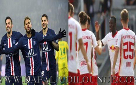 Prediksi UEFA Champions League: Paris Saint Germain Vs RB Leipzig