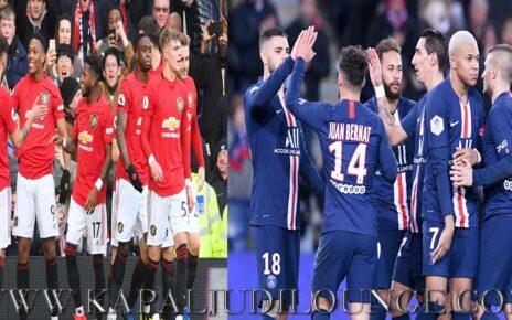 Prediksi UEFA Champions League: Manchester United Vs Paris Saint Germain