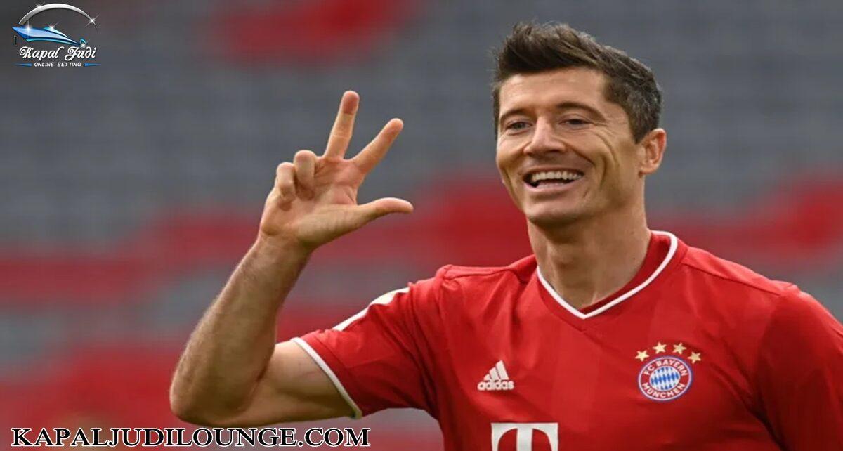 Robert Lewandowski Buat Rekor Baru di Bundesliga