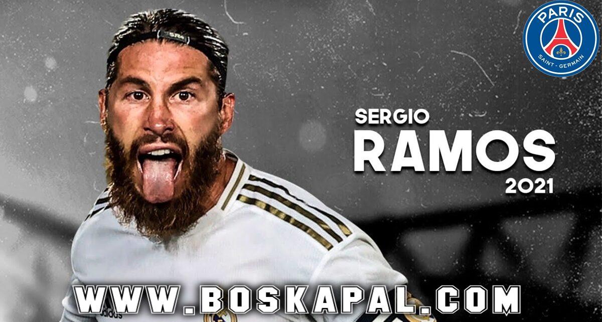 Paris Saint Germain Sedang Rayu Sergio Ramos