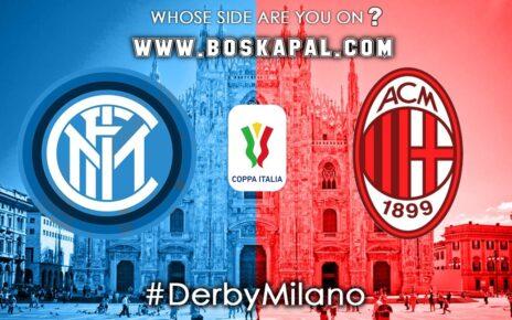 Prediksi Italy Cup: Inter Milan Vs AC Milan