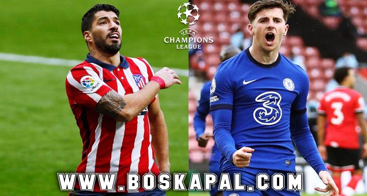 Prediksi Liga Champions Atletico Madrid vs Chelsea