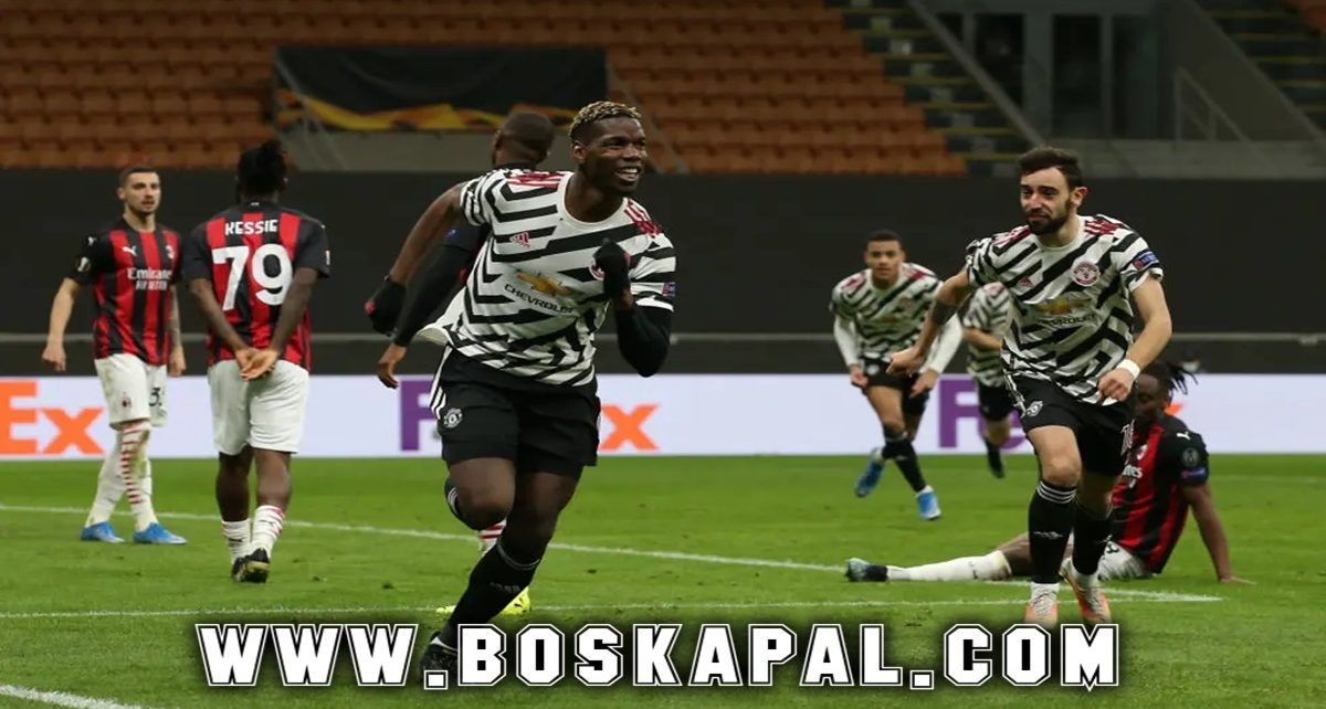 Manchester United Lolos Lewat Gol Tunggal Paul Pogba
