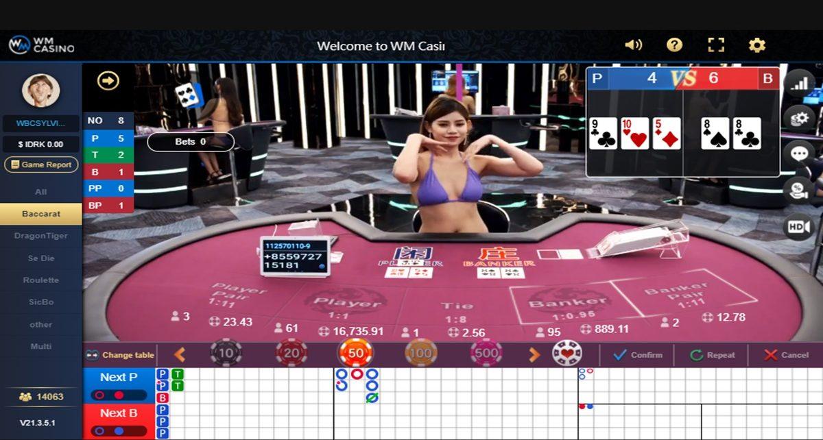 Panduan Bermain Live Casino Baccarat