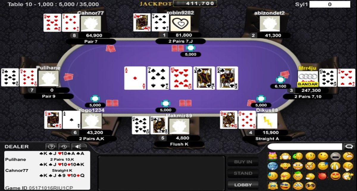 Panduan Bermain Game Bandar Poker