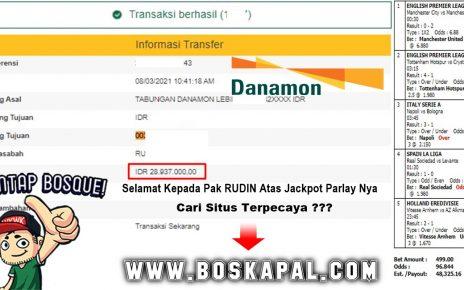 Jackpot Mix Parlay Hingga 28 Jutaan Di Kapaljudi