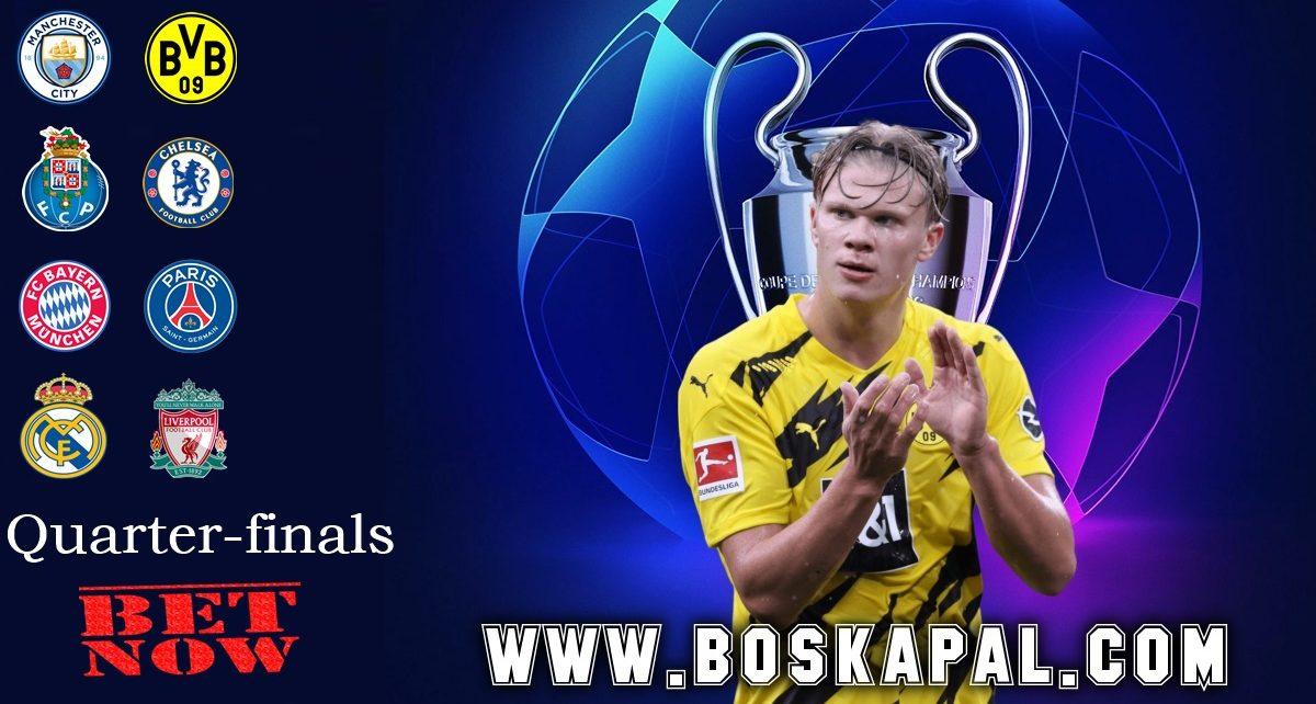 Hasil Drawing Perempat Final Liga Champions: Bayern Bentrok Dengan PSG