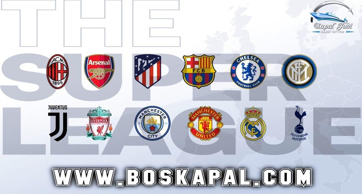 12 Klub Liga Super Eropa Tetap Menerima Sanksi UEFA