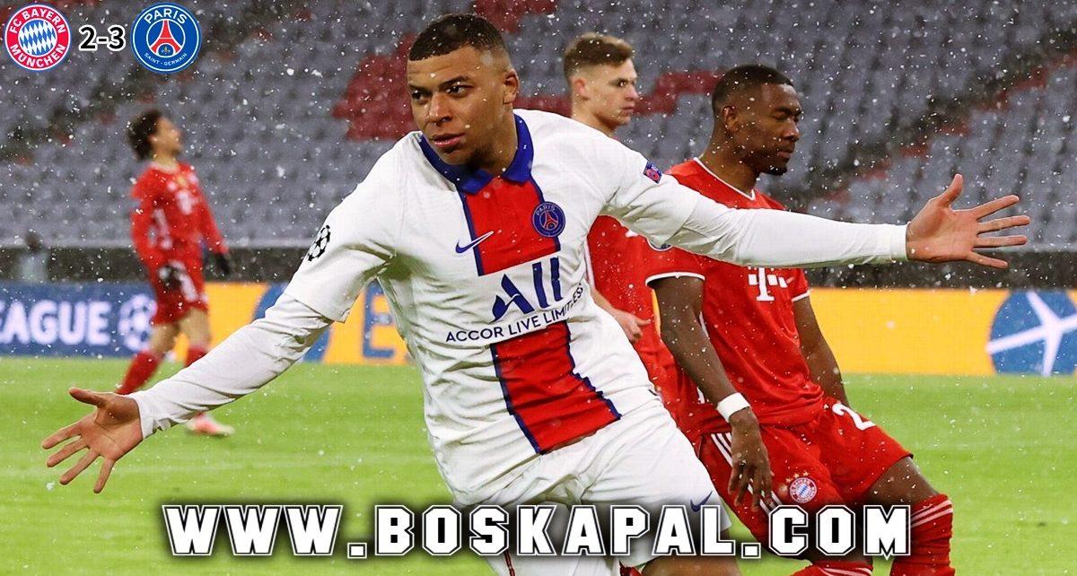Bayern Munchen Tumbang Dengan Skor Tipis Kontra PSG