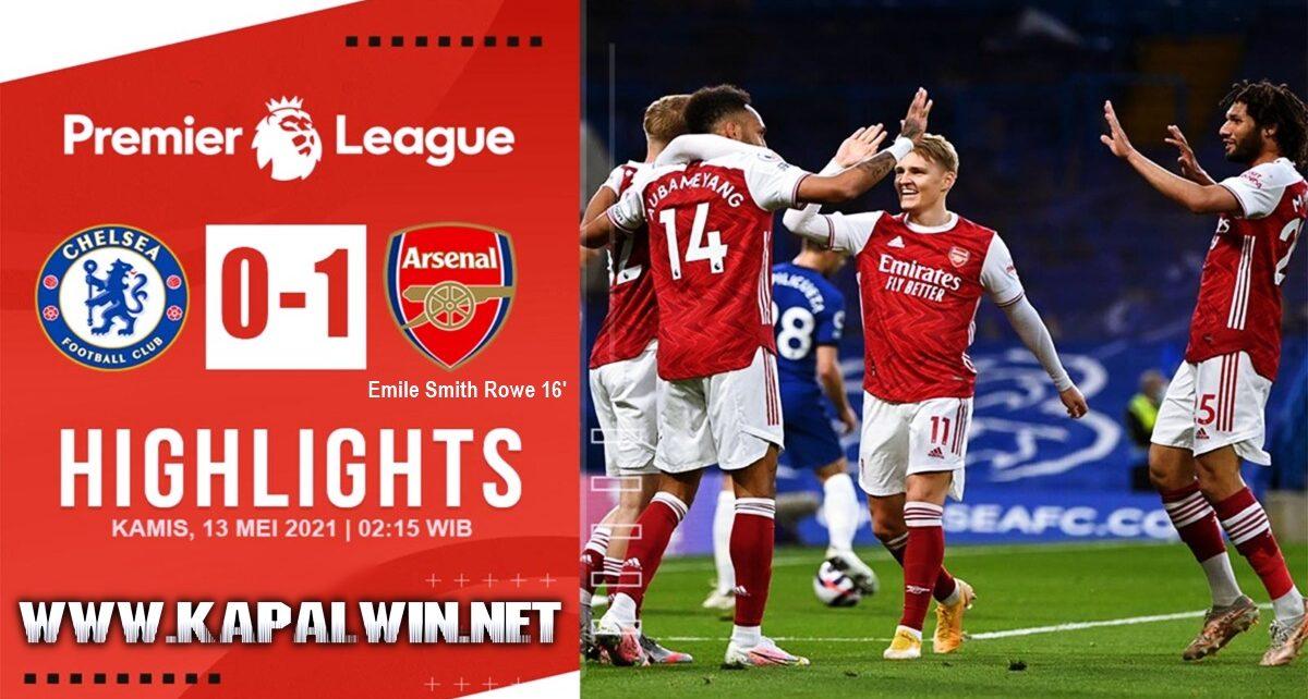 Emile Smith Rowe Gol Tunggal Kemenangan Arsenal Kontra Chelsea