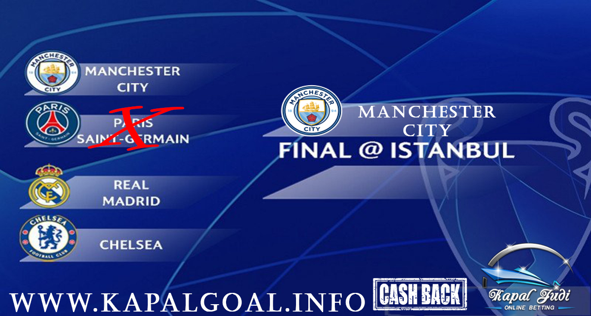 Manchester City Masuk Final