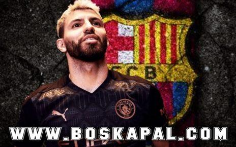 Sergio Aguero Bergabung Bersama Barcelona?