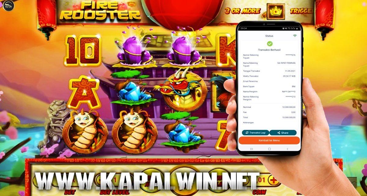 Info Kemenangan Slot Habanero Fire Rooster