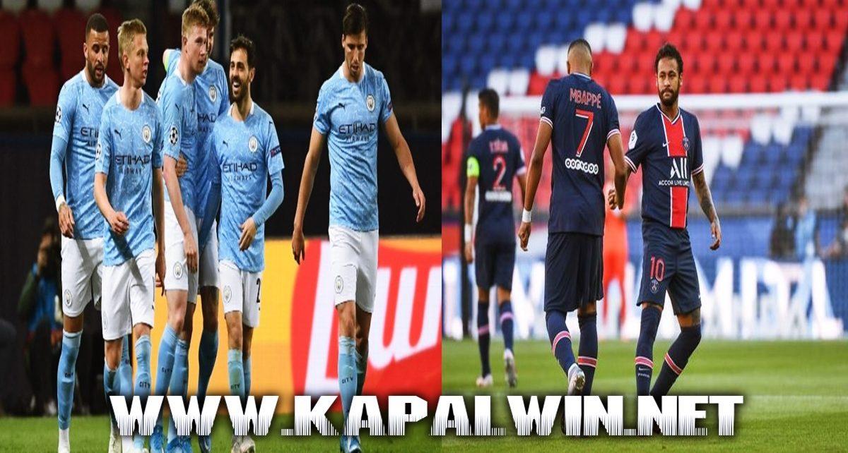 Manchester City Vs Paris Saint Germain Laga Hidup dan Mati
