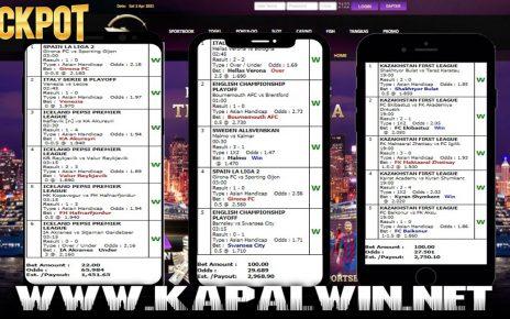 Info Kemenangan Jackpot Mix Parlay 18 Mei 2021