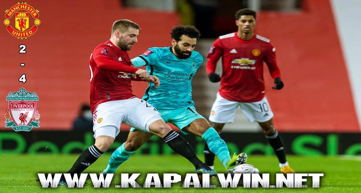 Manchester United Tumbang Kontra Liverpool