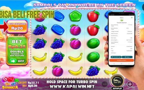Info Kemenangan Slot Pragmatic Play Sweet Bonanza