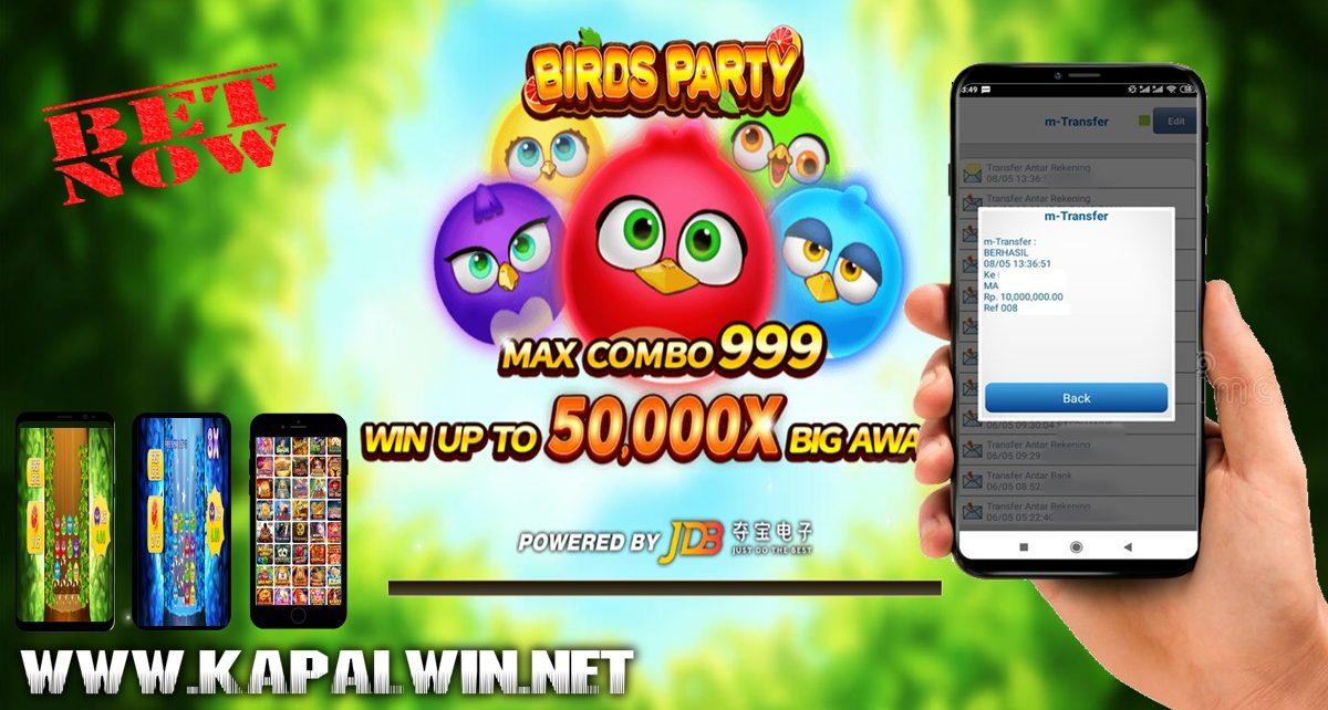 Info Kemenangan Slot JDB Birds Party