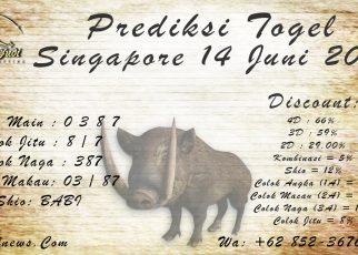 PREDIKSI SINGAPORE 14 JUNI 2021 KAPALJUDI
