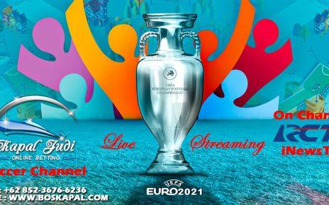 Jadwal Live Streaming Euro 2021 di Kapaljudi, 18 Juni 2021