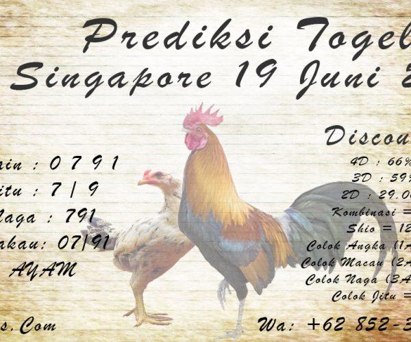 PREDIKSI SINGAPORE 19 JUNI 2021 KAPALJUDI