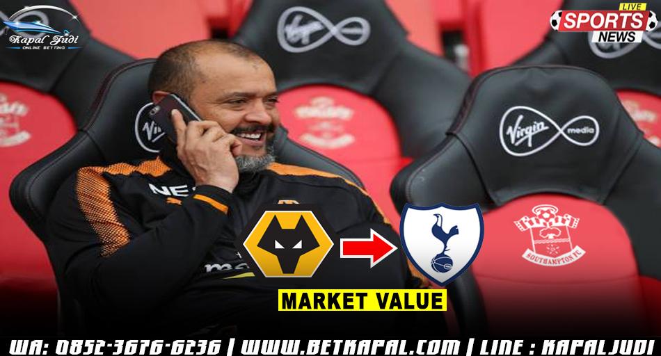 Tottenham Akan Tunjuk Nuno Espirito Santo Jadi Manajer