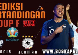 Prediksi UEFA Euro 2021 France vs Germany