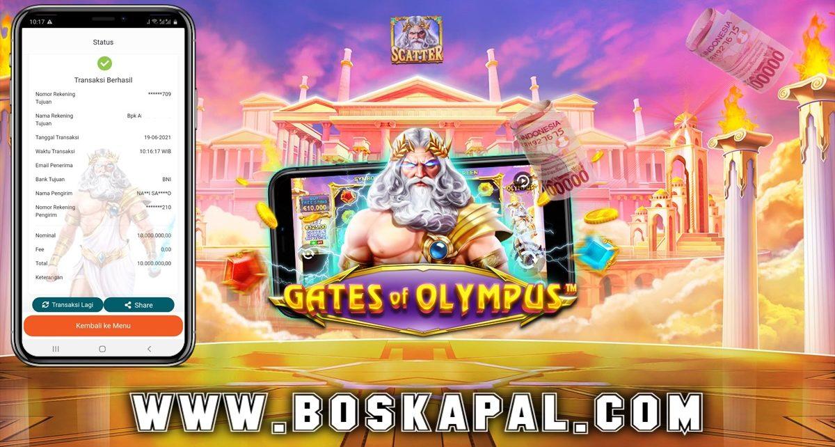 Jackpot Gate Of Olympus Pragmatic Play 19 Juni 2021