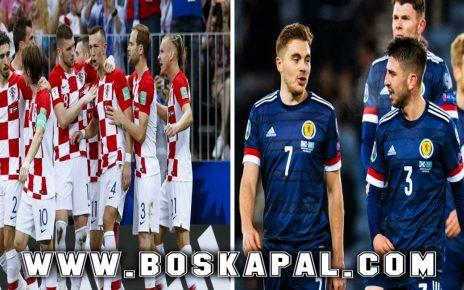 Prediksi Croatia vs Scotland UEFA Euro 2021