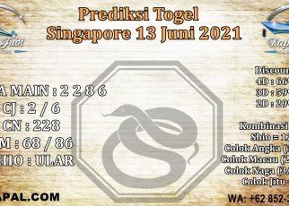 PREDIKSI SINGAPORE 13 JUNI 2021 KAPALJUDI