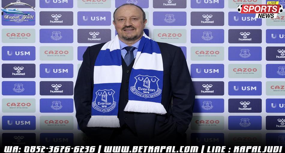 Rafael Benitez Jadi Manajer Baru Everton