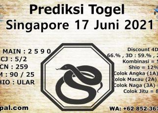 PREDIKSI SINGAPORE 17 JUNI 2021 KAPALJUDI
