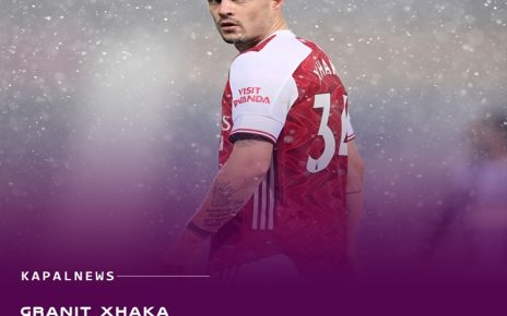 Granit Xhaka Akan Hengkang Dari Arsenal
