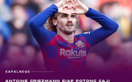 Griezmann Siap Potong Gaji Demi Bertahan Di Barcelona
